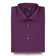 Thomas Nash - Purple regular fit shirt