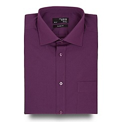 Thomas Nash - Big and tall purple regular fit shirt