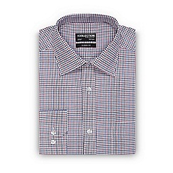 The Collection - Big and tall multi-coloured check print classic fit shirt