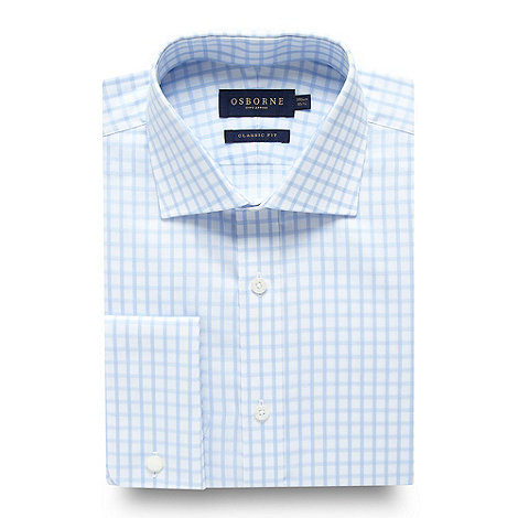 Osborne - Windowpane check shirt