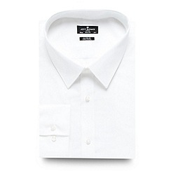 Jeff Banks - Big and tall designer white regular fit shirt