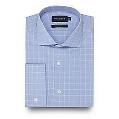 Osborne - Blue Prince Of Wales checked shirt