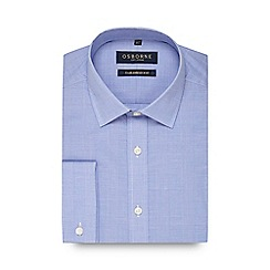 Osborne - Blue pow checked shirt
