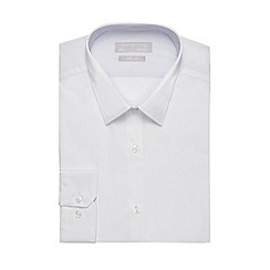 Red Herring - White easy care slim fit shirt