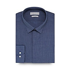 Red Herring - Navy slim fit shirt