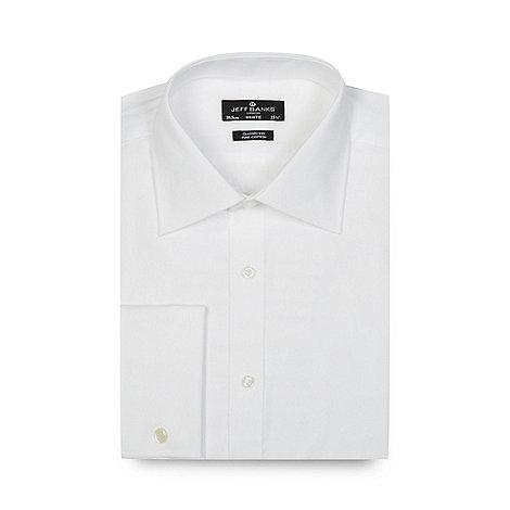 Jeff Banks - Designer white regular fit shirt