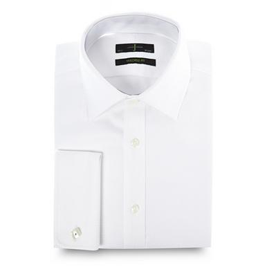 Designer white heavy twill shirt