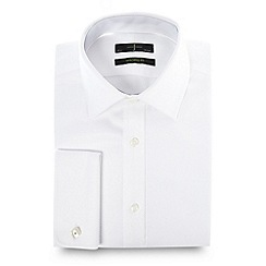 J by Jasper Conran - Designer white heavy twill shirt
