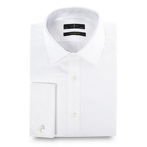 J by Jasper Conran - Designer white heavy twill shirt