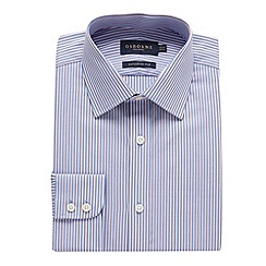 Osborne - Big and tall jubilee striped tailored fit shirt