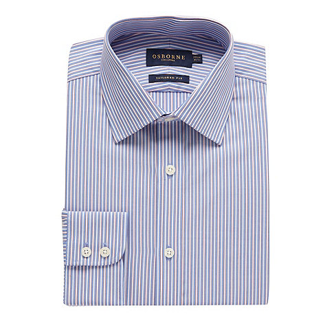 Osborne - Jubilee striped tailored fit shirt