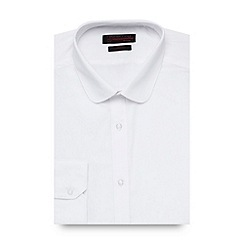 Red Herring - White slim fit easy care shirt
