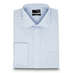 Thomas Nash - Big and tall light blue regular fit shirt
