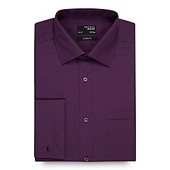 Thomas Nash - Purple regular fit shirt