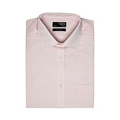 Thomas Nash - Big and tall pink easy care shirt