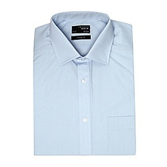 Thomas Nash - Big and tall light blue easy care shirt