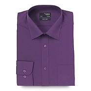 Thomas Nash - Purple easy care plain shirt