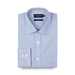 Osborne - Red multi striped tailored fit shirt