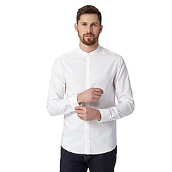 Red Herring - White grandad shirt