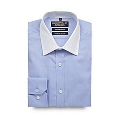 Hammond & Co. by Patrick Grant - Designer light blue tailored oxford shirt