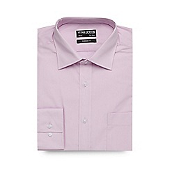 The Collection - Big and tall pink plain regular fit shirt