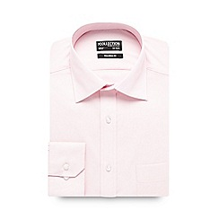 The Collection - Big and tall light pink cotton tailored fit shirt