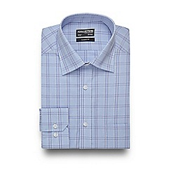 The Collection - Big and tall light blue bold checked regular shirt
