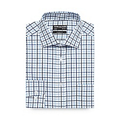 The Collection - White large checked shirt
