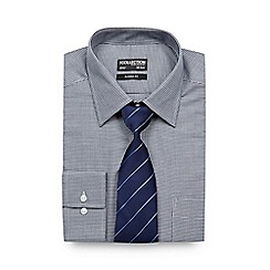 The Collection - Big and tall navy shirt and tie