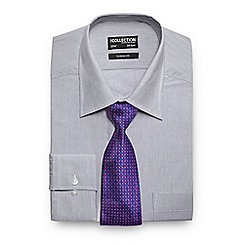 The Collection - Big and tall grey shirt and tie pack