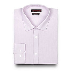 Red Herring - Big and tall light purple striped shirt