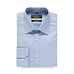Hammond & Co. by Patrick Grant - Pale blue tailored oxford shirt