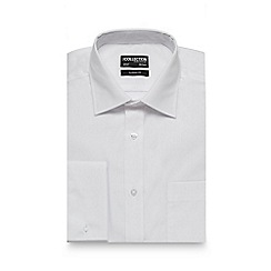 The Collection - White shirt with extra-long sleeves and body