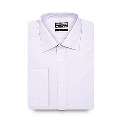 The Collection - Big and tall lilac plain regular fit shirt