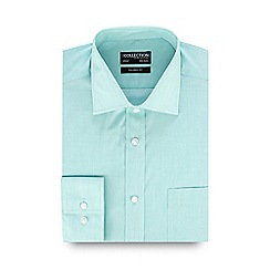 The Collection - Light green tailored long sleeve formal shirt