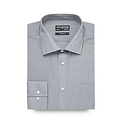 The Collection - Grey tailored long sleeve formal shirt