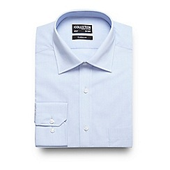 The Collection - Big and tall light blue regular fit shirt