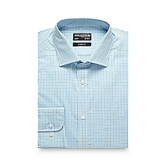 The Collection - Turquoise checked shirt