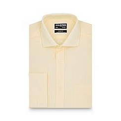 The Collection - Yellow tailored fit long sleeved shirt