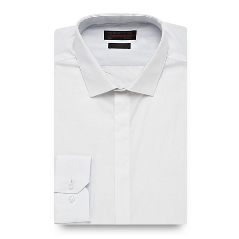 Red Herring - White essential formal shirt
