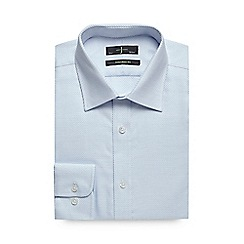 J by Jasper Conran - Blue tailored formal shirt