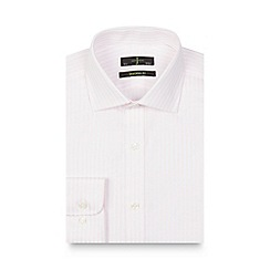 J by Jasper Conran - Pink striped shirt
