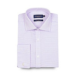 Osborne - Lilac puppytooth tailored shirt