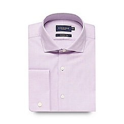 Osborne - Big and tall lilac oxford shirt