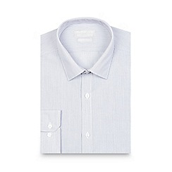 Red Herring - Grey striped print slim fit shirt