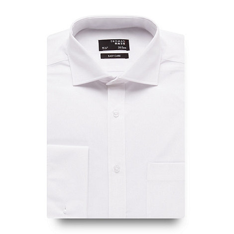 Thomas Nash - White ultimate long sleeve shirt