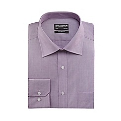 The Collection - Lilac tailored fit shirt