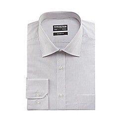 The Collection - White pinstripe tailored fit shirt