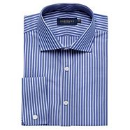 Big and tall blue striped shirt