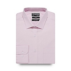 The Collection - Pink pointed collar slim fit shirt